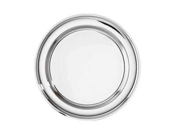 Поднос круглый, 40см нержавеющая сталь, Paderno. (66326-40)