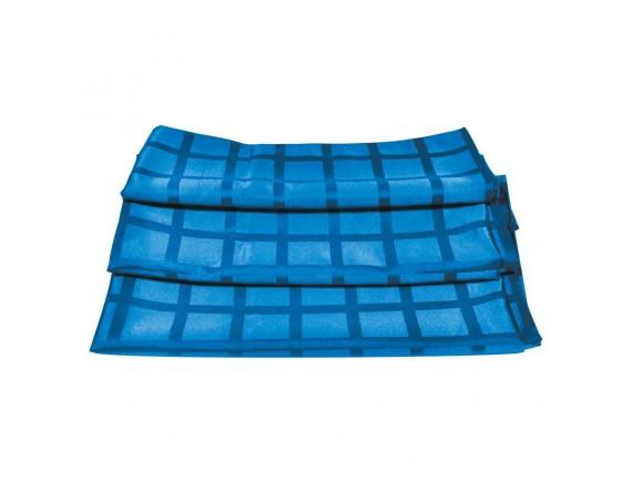 Скатерть голубая жаккард, 150*150 100% полиэстер