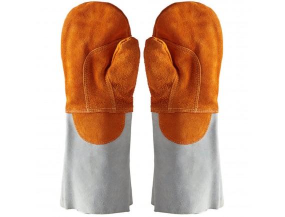Жаропрочные перчатки пекарские, (пара) до 250 град, удлиненные, Matfer Bourgeat. (773002)