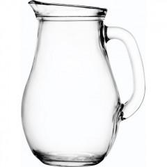 Кувшин стеклянный, 1л; D=123,H=200,L=158,B=2мм; прозрачный,Pasabahce. (80102)