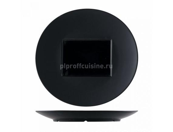 Тарелка круглая, 30.5*29 cм, прямоугольный центр (15*11 cм)