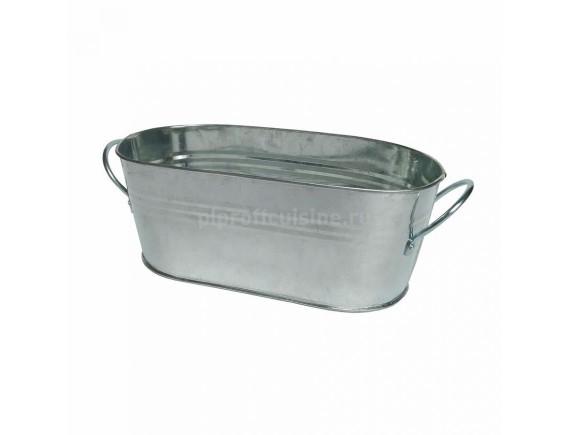 Ведерко металлическое для подачи, сервировки, 21/11/8,5 cм, 1300мл, Proff Cuisine. (81200296)