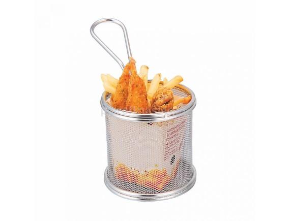 Корзина для подачи, металлическая 9х9х9 см, Proff Cuisine. (81200319)