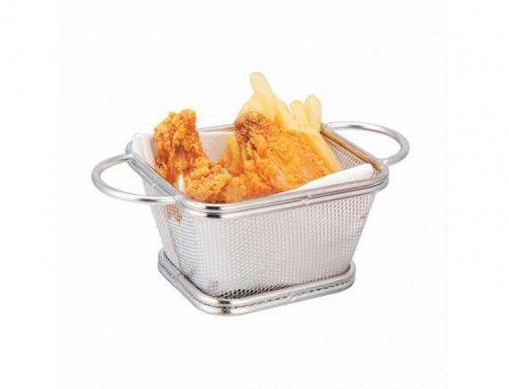 Корзина для подачи, металлическая 10.5х9х6.5 см, Proff Cuisine. (81200321)