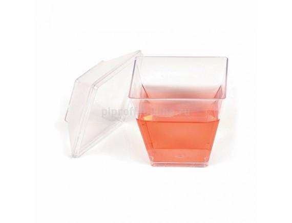 Фуршетный пластик, 1уп=24шт, (5х5х6 cм), 50мл, Proff Cuisine. (81200529)