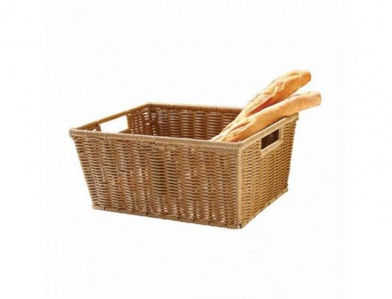Хлебница для выкладки, плетеная 40х30х18 см, Proff Cuisine. (81200593)