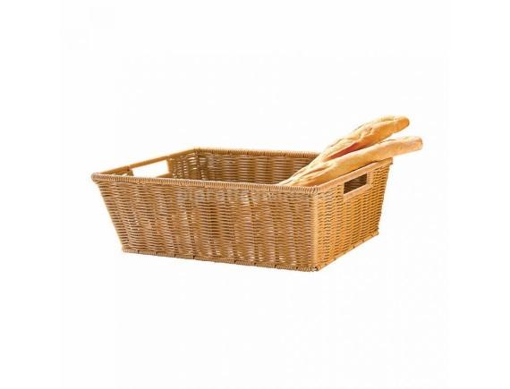 Хлебница для выкладки, плетеная 60х40х18 см, Proff Cuisine. (81200594)