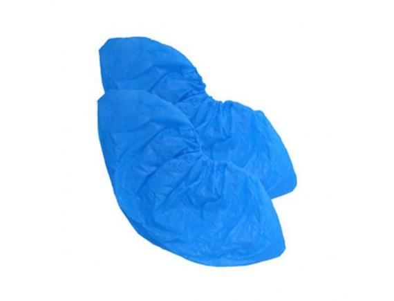 Бахилы полиэтиленовые, в рулоне голубые (уп-100шт), Proff Cuisine. (81400073)