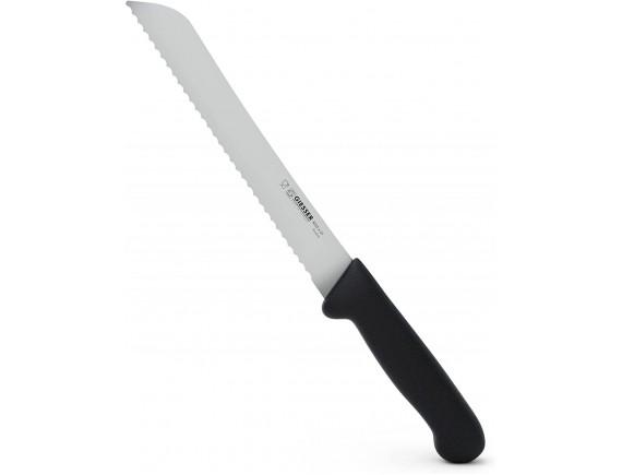 Нож для хлеба с волнистым лезвием, 21 см, ручка TPE, Giesser Messer. (8355 w 21)