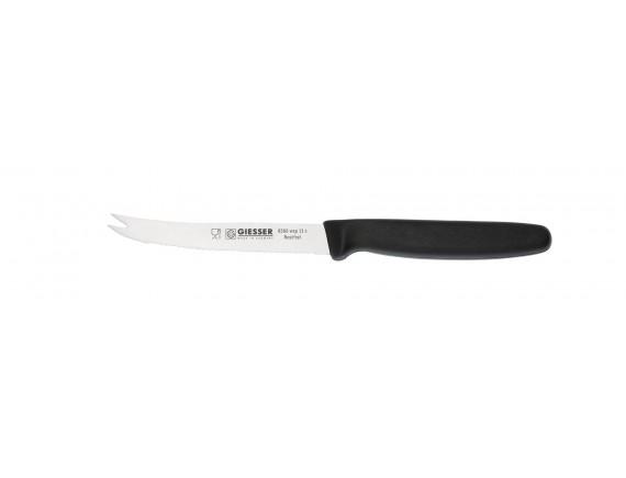 Нож барный, с волнистым лезвием 11 см, ручка TPE, Giesser Messer. (8366 wsp 11)