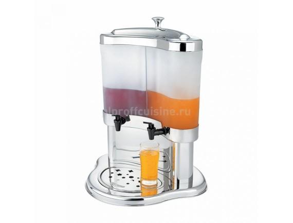 Диспенсер сервировочный для соков, молока и тд (2 колбы по 5 л), Proff Cuisine. (90001051)