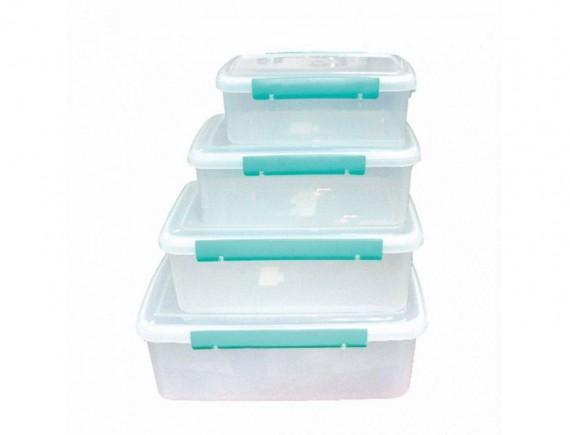 Пластиковый бокс для хранения продуктов, 8.35литра (385*260*140), Proff Cuisine. (90001155)