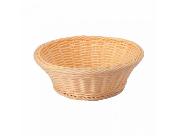 Хлебница плетеная, ротанг беж.круглая d=23.h=7 см, SUNNEX. (92000004)
