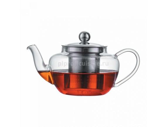 Чайник термостойкое стекло, 400 мл, Proff Cuisine. (92000033)