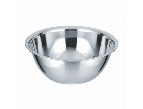 Миска металлическая кухонная, D=24 см, 2.7 л, толщина 0.3 мм, Proff Cuisine. (92001147)