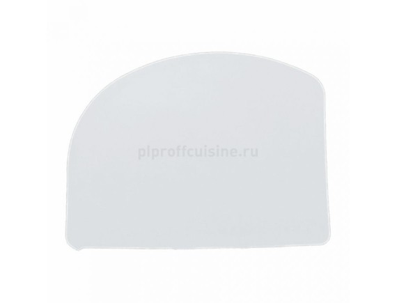 Скребок кондитерский, пластиковый, 12,6х9,7 см, Proff Cuisine. (94001040)