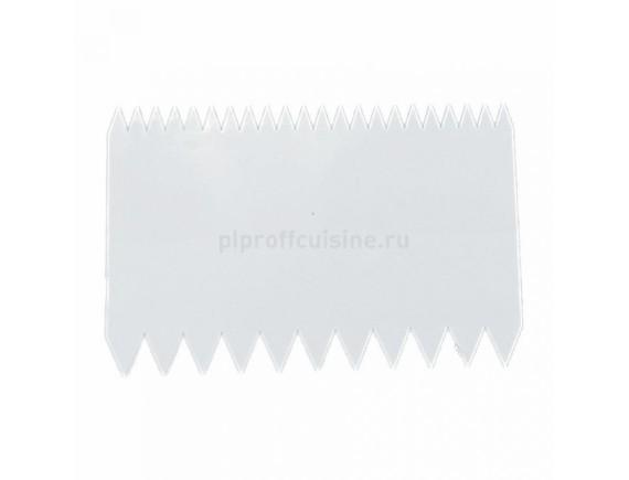 Гребень кондитерский, пластиковый, 11х7,2 см, Proff Cuisine. (94001043)