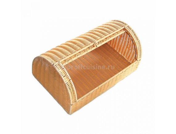 Подставка для хранения хлеба, плетеная ротанг.беж.53*33*23см  LQ-P.L., Proff Cuisine. (95001100)