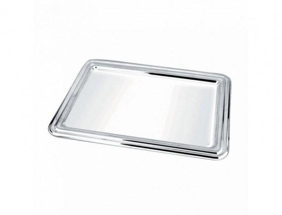 Блюдо прямоугольное, нержавеющая сталь, 41*29 cм