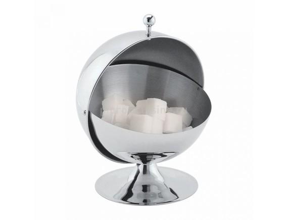 Сахарница металлическая «Шар» с откидной крышкой, 300 мл, Proff Cuisine. (95001167)