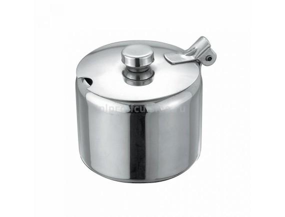 Сахарница металлическая SUNNEX с откидной крышкой, 280 мл, Proff Cuisine. (95001205)