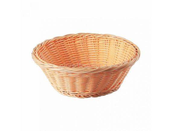 Хлебница плетеная, ротанг беж.круглая d=20.5.h=7.5 см, SUNNEX. (95001259)
