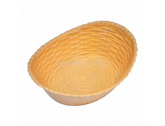 Хлебница пластиковая, овальн.беж.210*165*68 LQ, Proff Cuisine. (95001272)