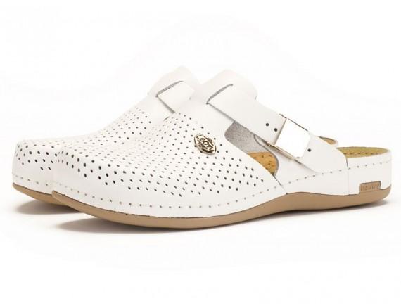 Женские тапочки-сабо | 950 (белый), Leon (950WHT)