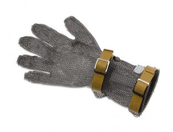 Кольчужная перчатка, с манжетой 8 см, нержавеющая сталь, размер XXS, Giesser Messer. (9590 08 br)