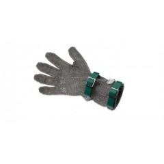 Кольчужная перчатка, с манжетой 8 см, нержавеющая сталь, размер XS, Giesser Messer. (9590 08 gr)