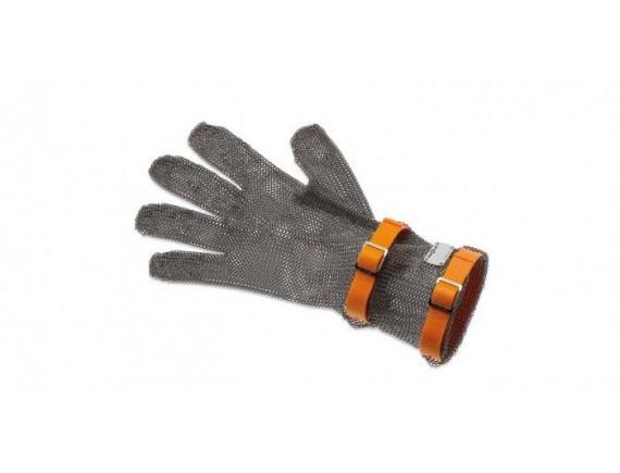 Кольчужная перчатка, с манжетой 8 см, нержавеющая сталь, размер XL, Giesser Messer. (9590 08 or)