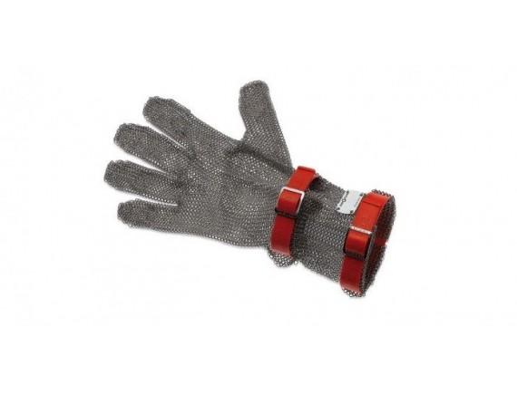 Кольчужная перчатка, с манжетой 8 см, нержавеющая сталь, размер M, Giesser Messer. (9590 08 r)