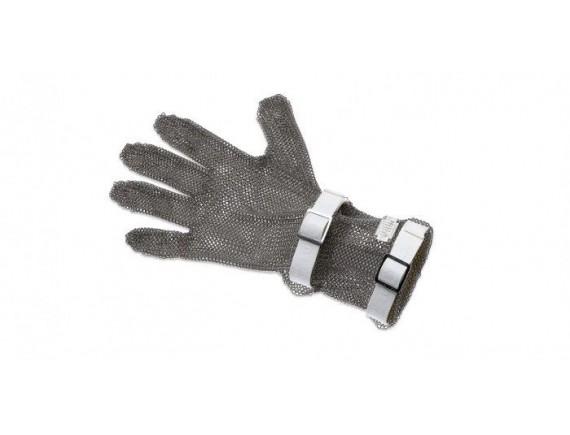 Кольчужная перчатка, с манжетой 8 см, нержавеющая сталь, размер S, Giesser Messer. (9590 08 w)