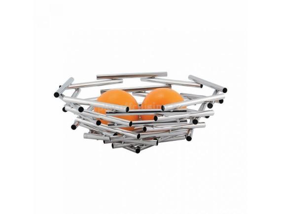 Фруктовница, нержавеющая сталь (d=30/h=11 cм) «Kamspring», Proff Cuisine. (99000061)