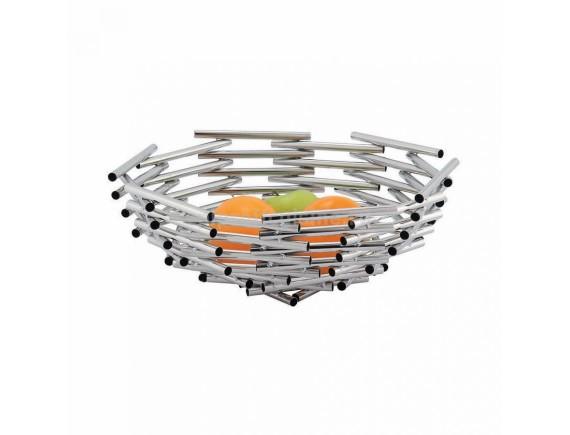 Фруктовница, нержавеющая сталь (d=34/h=13 cм) «Kamspring», Proff Cuisine. (99000062)