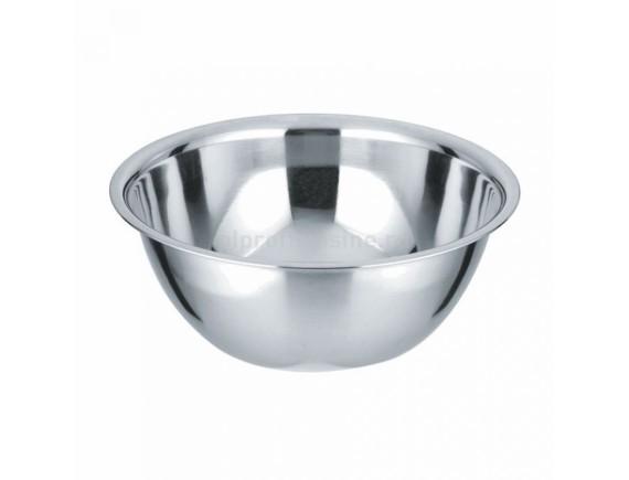 Миска металлическая кухонная, D=18 cм, 1 л, толщина 0.3 мм, Proff Cuisine. (99002160)