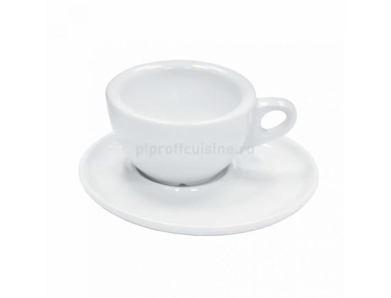 Чашка с блюдцем, 70мл LQ-NEW, Proff Cuisine. (99002247)