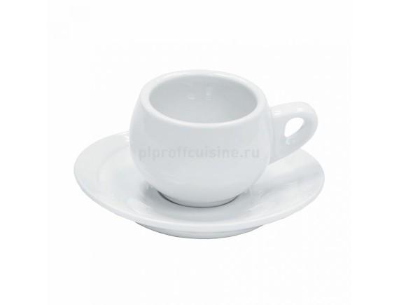 Чашка с блюдцем, 70мл