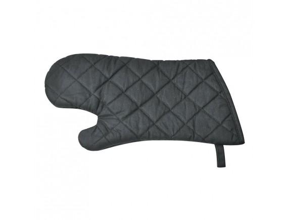 Жаропрочная рукавица пекарская, черная, t=200 C, 38 см, Proff Cuisine. (99004013)
