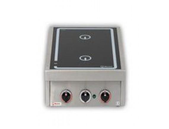 Плита индукционная настольная 2xD230мм (KOCHSTELEN 60,5 кВт 400 В ,400X600X200), Berner (BI1KTT10)