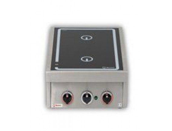 Плита индукционная настольная 2xD230мм (KOCHSTELEN 60,3,5 кВт 400 В ,400X600X200), Berner (BI1KTT7)