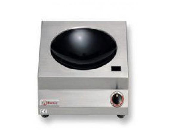 Плита индукционная настольная вок D300 (INDUKTIONSWOK,5 кВт 400 В ,400X455X180), Berner (BWK5)