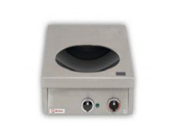 Плита индукционная настольная вок D300 (KOCHSTELEN 70,7 кВт 400 В ,400х700х200), Berner (BWKTH7)