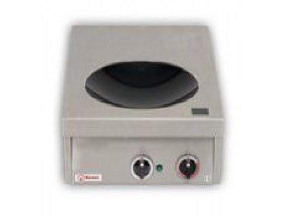 Плита индукционная настольная вок D300 (INDUKTIONSWOK 60,7 кВт 400 В ,400X600X200), Berner (BWKTT7)