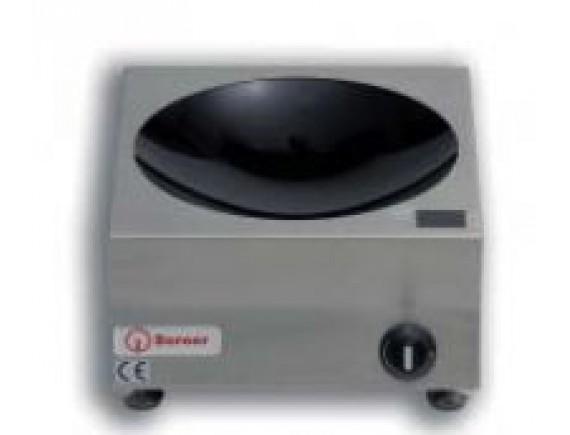 Плита индукционная настольная вок D300 (MINI,3 кВт 230 В ,330x380x175), Berner (BWM3,0)