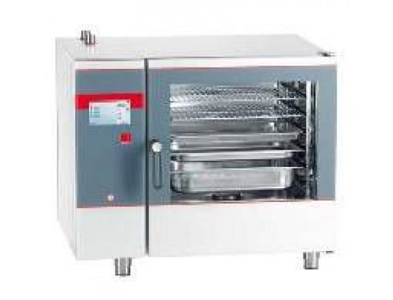 Пароконвектомат  Pro 6GN 1/1  (SCS 611qt-pro-R,11 кВт, 380 В, 980х795х840), Salvis (CS550250)