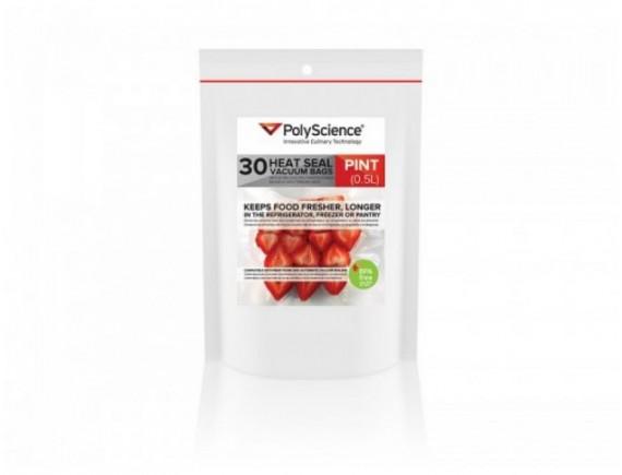 Термосварные вакуумные гофрированные пакеты, упаковка 30шт, PolyScience. (PSC-VBC-0610)