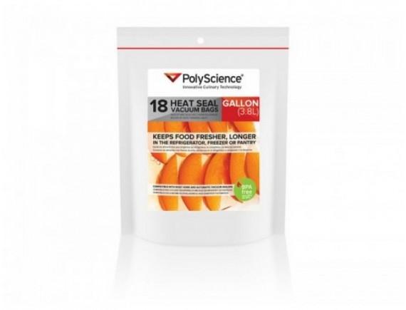 Термосварные вакуумные гофрированные пакеты, упаковка 18шт, PolyScience. (PSC-VBC-1116)