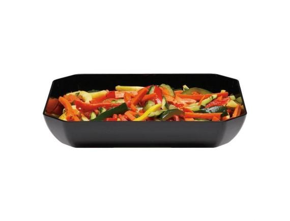 Блюдо для витрины 30,5х25,4х5 см черное пластик, Cambro (SFG1012110)