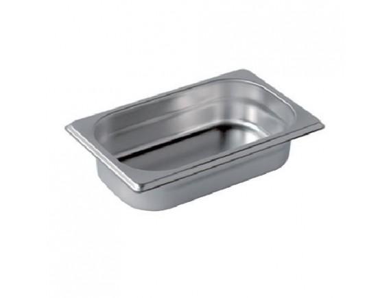 Гастроемкость, 1/4-65 (26х16х6.5см) нерж.сталь, Henry. (STP-252)
